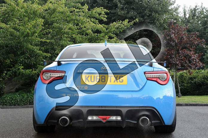 Image nine of this 2018 Toyota GT86 Coupe Special Edition Special Edition 2.0 D-4S Blue Edition 2dr in Blue at Listers Toyota Nuneaton