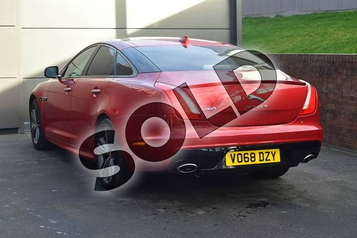 Image two of this 2018 Jaguar XJ Diesel Saloon Diesel 3.0d V6 R-Sport 4dr Auto in Firenze Red at Listers Jaguar Droitwich
