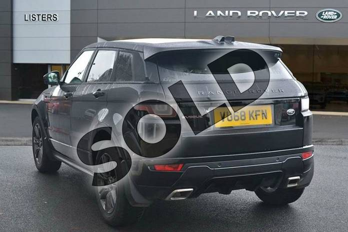 Image two of this 2018 Range Rover Evoque Hatchback Special Edition Special Edition 2.0 TD4 Landmark 5dr in Santorini Black at Listers Land Rover Hereford