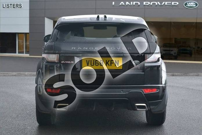 Image six of this 2018 Range Rover Evoque Hatchback Special Edition Special Edition 2.0 TD4 Landmark 5dr in Santorini Black at Listers Land Rover Hereford