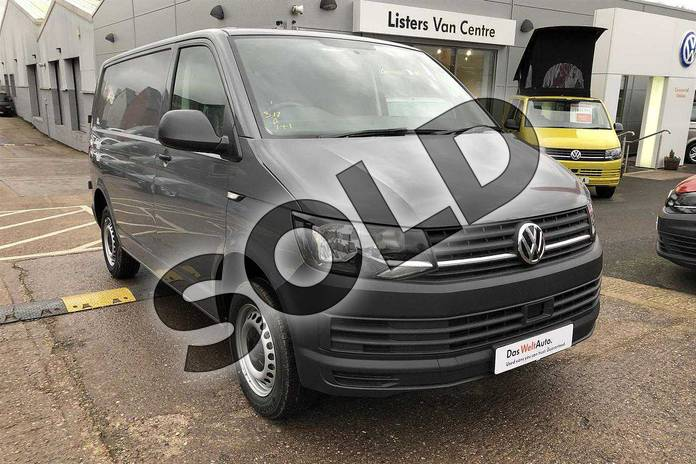 Image three of this 2018 Volkswagen Transporter T28 SWB Diesel T28 SWB Diesel 2.0 TDI BMT 102 Startline Van Euro 6 in Pure Grey  at Listers Volkswagen Van Centre Worcestershire