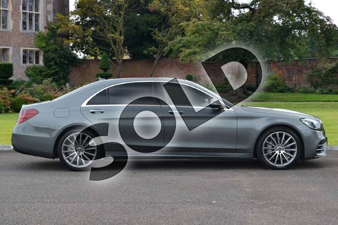 Image four of this 2018 Mercedes-Benz S Class Diesel Saloon Diesel S350d L AMG Line Premium 4dr 9G-Tronic in Selenite Grey metallic at Mercedes-Benz of Lincoln