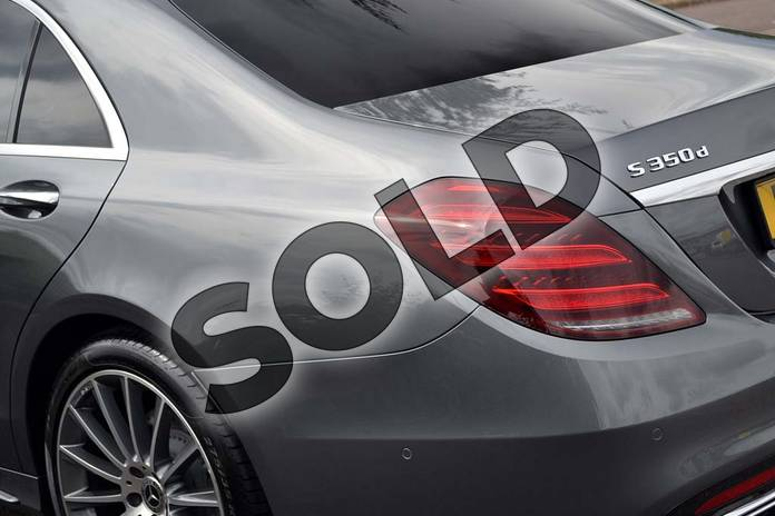 Image ten of this 2018 Mercedes-Benz S Class Diesel Saloon Diesel S350d L AMG Line Premium 4dr 9G-Tronic in Selenite Grey metallic at Mercedes-Benz of Lincoln