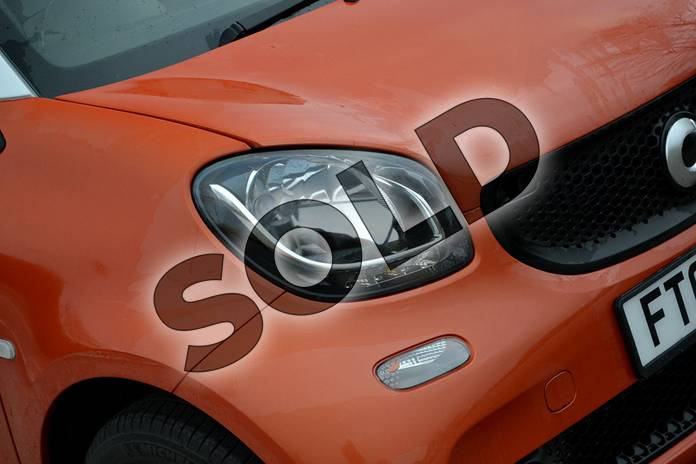 Image eight of this 2018 Smart Fortwo Coupe 1.0 Passion 2dr in lava orange metallic at smart at Mercedes-Benz of Lincoln