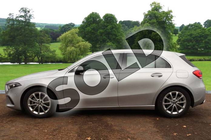 Image four of this 2018 Mercedes-Benz A Class Diesel Hatchback Diesel A180d Sport Premium 5dr Auto in Iridium Silver Metallic at Mercedes-Benz of Grimsby