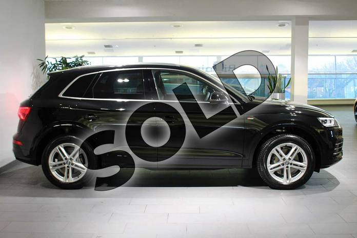 Image four of this 2018 Audi Q5 Diesel Estate Diesel 40 TDI Quattro S Line 5dr S Tronic in Myth Black Metallic at Birmingham Audi