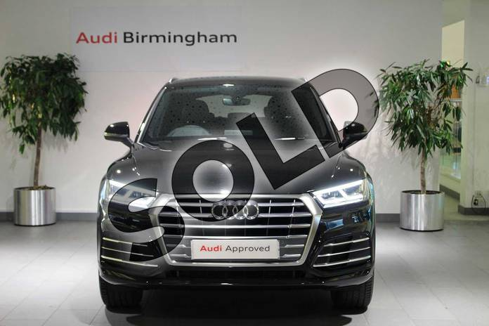 Image seven of this 2018 Audi Q5 Diesel Estate Diesel 40 TDI Quattro S Line 5dr S Tronic in Myth Black Metallic at Birmingham Audi