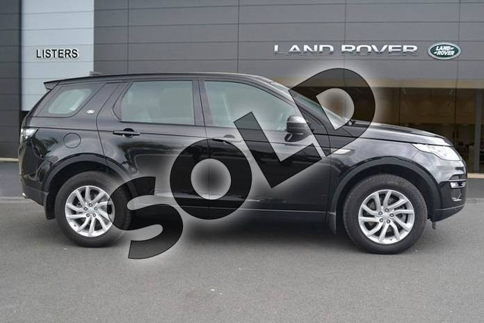 Image five of this 2018 Land Rover Discovery Sport Diesel SW Diesel SW 2.0 TD4 180 SE Tech 5dr Auto in Santorini Black at Listers Land Rover Hereford