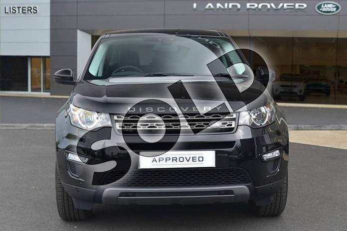 Image six of this 2018 Land Rover Discovery Sport Diesel SW Diesel SW 2.0 TD4 180 SE Tech 5dr Auto in Santorini Black at Listers Land Rover Hereford