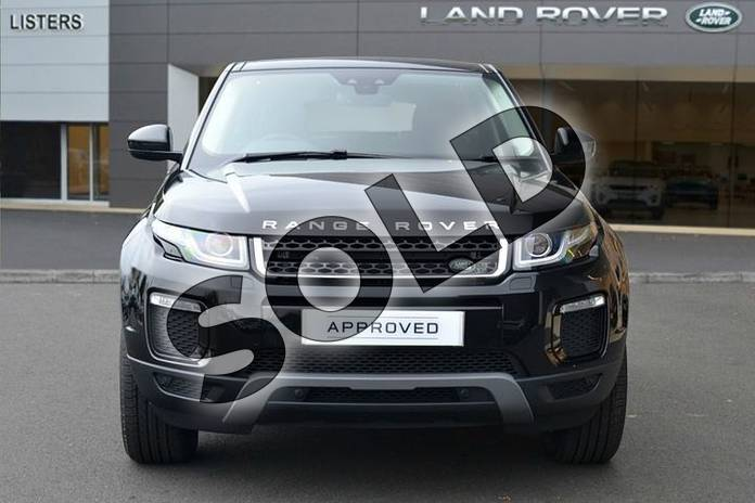 Image seven of this 2018 Range Rover Evoque Diesel Hatchback Diesel 2.0 TD4 SE Tech 5dr Auto in Santorini Black at Listers Land Rover Hereford