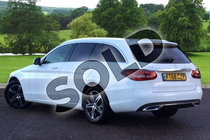 Image two of this 2018 Mercedes-Benz C Class Estate C200 Sport 5dr 9G-Tronic in polar white at Mercedes-Benz of Grimsby