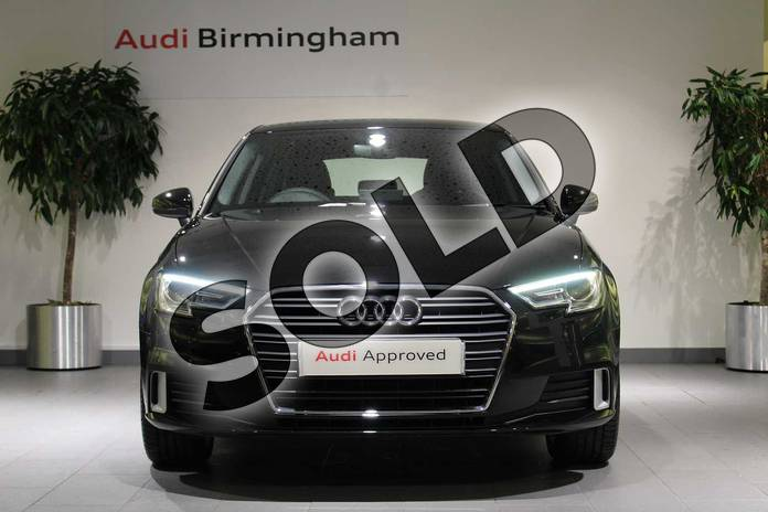 Image seven of this 2018 Audi A3 Sportback 35 TFSI Sport 5dr S Tronic in Myth Black Metallic at Birmingham Audi