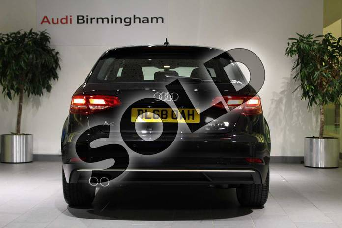 Image thirteen of this 2018 Audi A3 Sportback 35 TFSI Sport 5dr S Tronic in Myth Black Metallic at Birmingham Audi