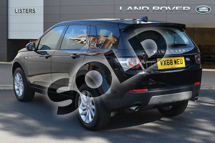 Image two of this 2018 Land Rover Discovery Sport Diesel SW Diesel SW 2.0 TD4 180 SE 5dr Auto in Narvik Black at Listers Land Rover Droitwich
