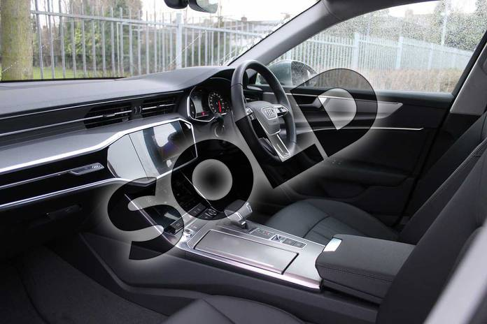 Image two of this 2018 Audi A6 Diesel Saloon Diesel 40 TDI Sport 4dr S Tronic in Typhoon Grey Metallic at Coventry Audi