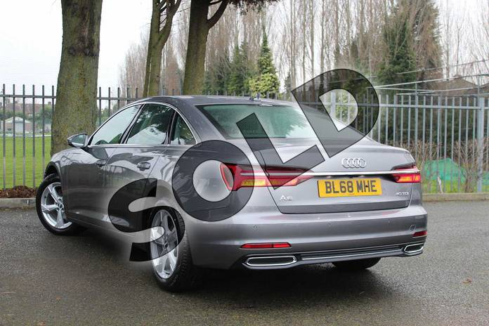 Image three of this 2018 Audi A6 Diesel Saloon Diesel 40 TDI Sport 4dr S Tronic in Typhoon Grey Metallic at Coventry Audi