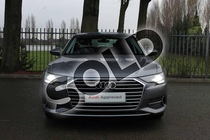 Image seven of this 2018 Audi A6 Diesel Saloon Diesel 40 TDI Sport 4dr S Tronic in Typhoon Grey Metallic at Coventry Audi