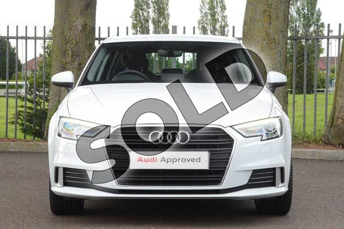 Image seven of this 2018 Audi A3 Sportback 35 TFSI Sport 5dr in Glacier White Metallic at Coventry Audi