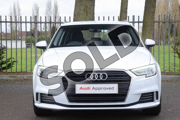 Image seven of this 2018 Audi A3 Sportback 35 TFSI Sport 5dr S Tronic in Glacier White Metallic at Coventry Audi