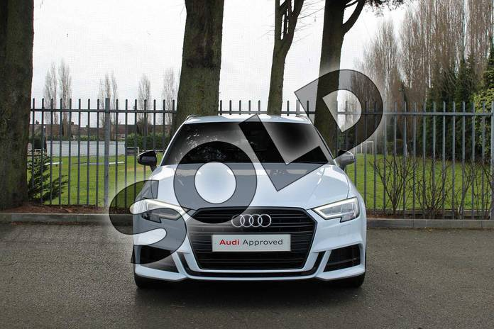 Image seven of this 2018 Audi A3 Diesel Sportback Diesel 30 TDI 116 Black Edition 5dr in Glacier White Metallic at Coventry Audi