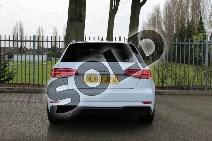 Image twelve of this 2018 Audi A3 Diesel Sportback Diesel 30 TDI 116 Black Edition 5dr in Glacier White Metallic at Coventry Audi