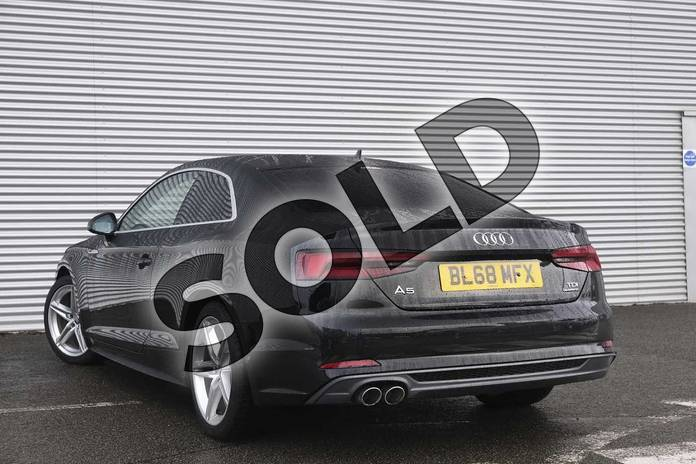 Image three of this 2018 Audi A5 Diesel Coupe Diesel 2.0 TDI Quattro S Line 2dr S Tronic in Myth Black Metallic at Coventry Audi