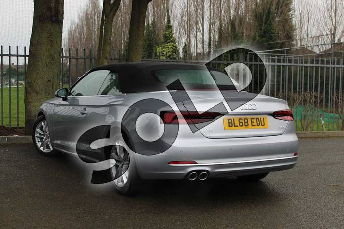 Image three of this 2018 Audi A5 Diesel Cabriolet Diesel 2.0 TDI Sport 2dr S Tronic in Floret Silver Metallic at Coventry Audi