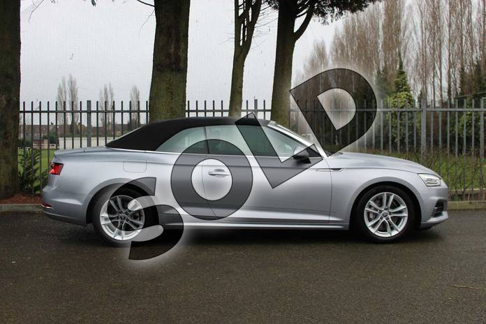 Image four of this 2018 Audi A5 Diesel Cabriolet Diesel 2.0 TDI Sport 2dr S Tronic in Floret Silver Metallic at Coventry Audi
