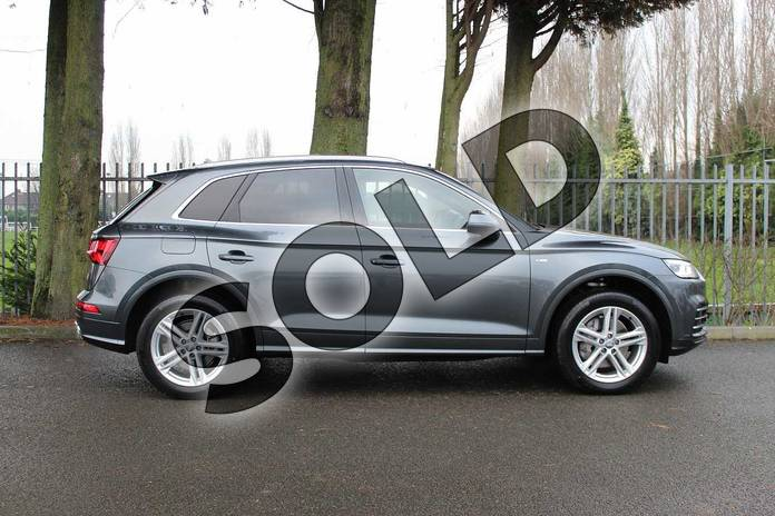 Image four of this 2018 Audi Q5 Diesel Estate Diesel 40 TDI Quattro S Line 5dr S Tronic in Daytona Grey Pearlescent at Coventry Audi