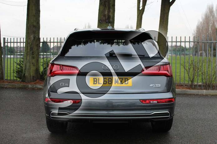 Image six of this 2018 Audi Q5 Diesel Estate Diesel 40 TDI Quattro S Line 5dr S Tronic in Daytona Grey Pearlescent at Coventry Audi