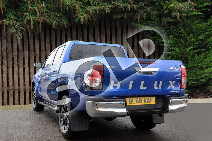 Image three of this 2019 Toyota Hilux Diesel Diesel Invincible X D/Cab Pick Up 2.4 D-4D Auto in Nebula Blue at Listers Toyota Coventry