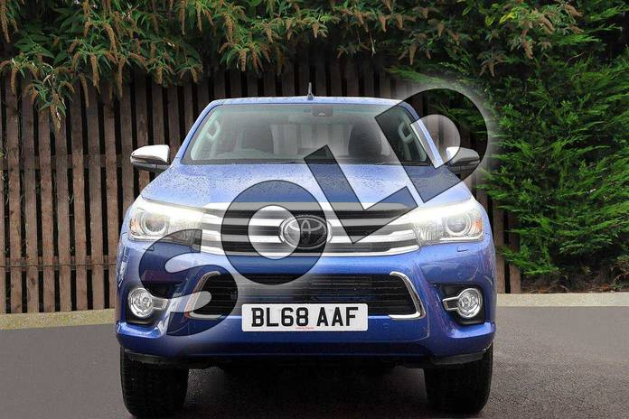 Image seven of this 2019 Toyota Hilux Diesel Diesel Invincible X D/Cab Pick Up 2.4 D-4D Auto in Nebula Blue at Listers Toyota Coventry