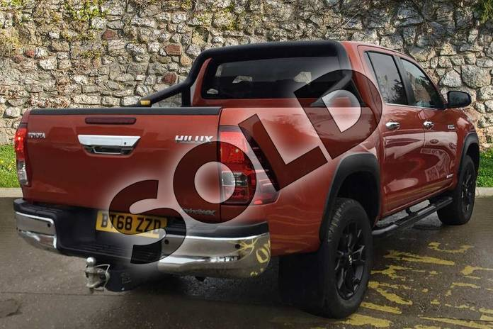 Image two of this 2019 Toyota Hilux Special Editions Special Editions Invincible X Ltd Edn D/Cab Pick Up 2.4 D-4D Auto in scorched orange at Listers Toyota Coventry