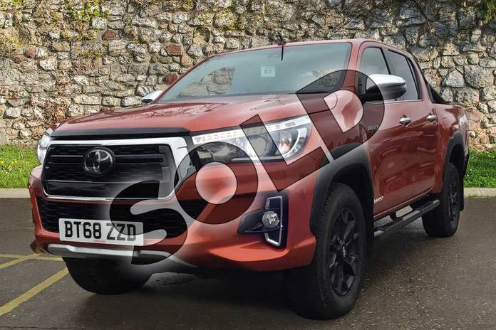 Image three of this 2019 Toyota Hilux Special Editions Special Editions Invincible X Ltd Edn D/Cab Pick Up 2.4 D-4D Auto in scorched orange at Listers Toyota Coventry