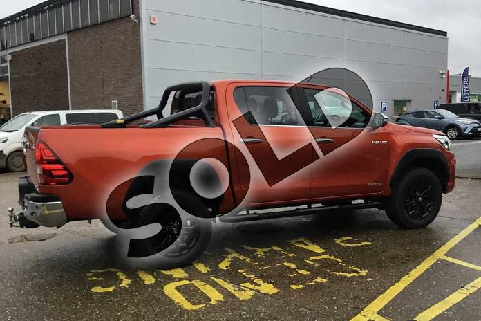 Image sixteen of this 2019 Toyota Hilux Special Editions Special Editions Invincible X Ltd Edn D/Cab Pick Up 2.4 D-4D Auto in scorched orange at Listers Toyota Coventry