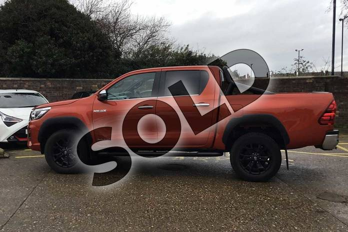 Image seventeen of this 2019 Toyota Hilux Special Editions Special Editions Invincible X Ltd Edn D/Cab Pick Up 2.4 D-4D Auto in scorched orange at Listers Toyota Coventry