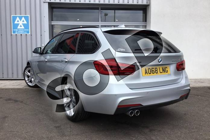 Image two of this 2018 BMW 3 Series Diesel Touring Diesel Touring 320d xDrive M Sport 5dr Step Auto in Glacier Silver at Listers King's Lynn (BMW)