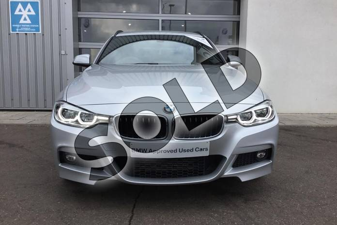 Image three of this 2018 BMW 3 Series Diesel Touring Diesel Touring 320d xDrive M Sport 5dr Step Auto in Glacier Silver at Listers King's Lynn (BMW)