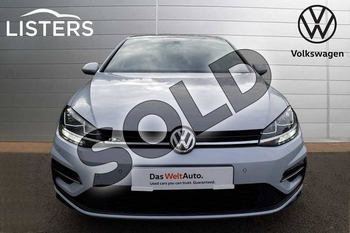 Image seven of this 2019 Volkswagen Golf Hatchback 1.5 TSI EVO 150 R-Line 5dr DSG in White Silver at Listers Volkswagen Loughborough