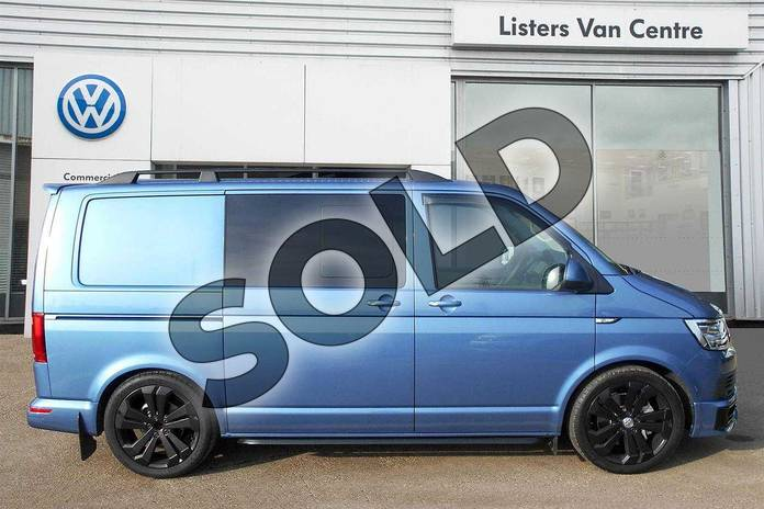 Image four of this 2019 Volkswagen Transporter T32 SWB Diesel 2.0 TDI BMT 150 Highline Kombi Van in Acapulco Blue Metallic Two Tone at Listers Volkswagen Van Centre Coventry