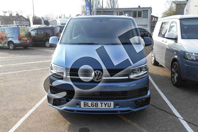 Image seven of this 2019 Volkswagen Transporter T32 SWB Diesel 2.0 TDI BMT 150 Highline Kombi Van in Acapulco Blue Metallic Two Tone at Listers Volkswagen Van Centre Coventry