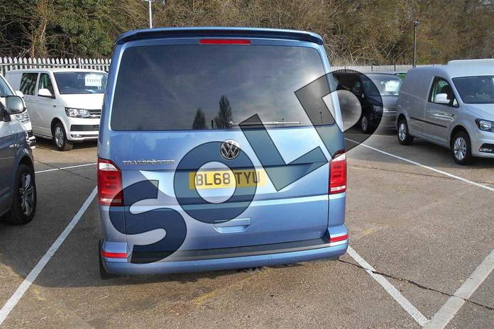 Image eight of this 2019 Volkswagen Transporter T32 SWB Diesel 2.0 TDI BMT 150 Highline Kombi Van in Acapulco Blue Metallic Two Tone at Listers Volkswagen Van Centre Coventry