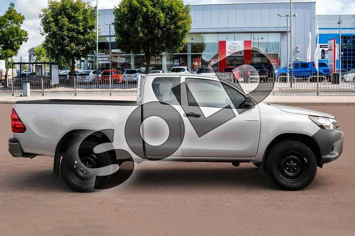 Image five of this 2019 Toyota Hilux Diesel Diesel Active Extra Cab Pick Up 2.4 D-4D in Silver Blade at Listers Toyota Cheltenham