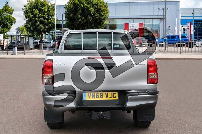 Image nine of this 2019 Toyota Hilux Diesel Diesel Active Extra Cab Pick Up 2.4 D-4D in Silver Blade at Listers Toyota Cheltenham