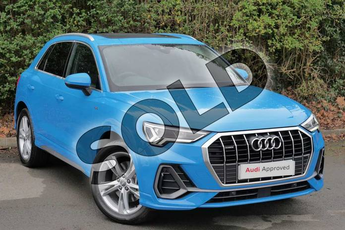 audi q3 45 tfsi quattro s line 5dr s tronic for sale at worcester