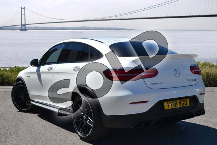Image two of this 2018 Mercedes-Benz GLC AMG Coupe GLC AMG GLC 63 S 4Matic Premium 5dr 9G-Tronic in designo diamond white bright at Mercedes-Benz of Hull