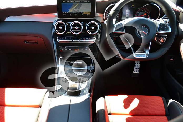 Image seven of this 2018 Mercedes-Benz GLC AMG Coupe GLC AMG GLC 63 S 4Matic Premium 5dr 9G-Tronic in designo diamond white bright at Mercedes-Benz of Hull