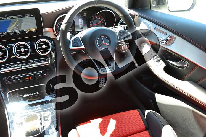 Image thirty-three of this 2018 Mercedes-Benz GLC AMG Coupe GLC AMG GLC 63 S 4Matic Premium 5dr 9G-Tronic in designo diamond white bright at Mercedes-Benz of Hull