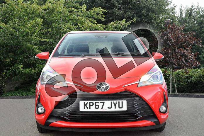 Image five of this 2017 Toyota Yaris Hatchback 1.5 VVT-i Icon 5dr in Red at Listers Toyota Nuneaton