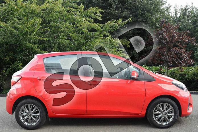 Image seven of this 2017 Toyota Yaris Hatchback 1.5 VVT-i Icon 5dr in Red at Listers Toyota Nuneaton